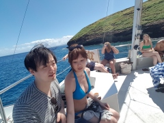 And here we are in Molokini Island