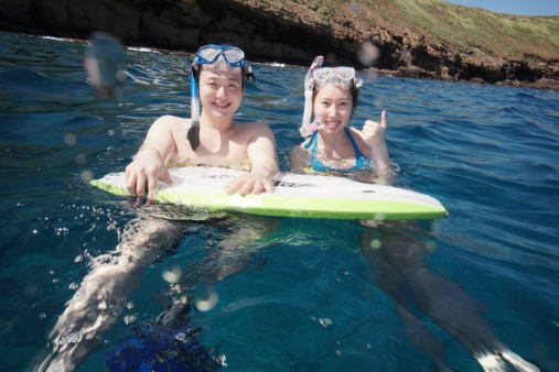 Just can't skip snorkelling! ;)